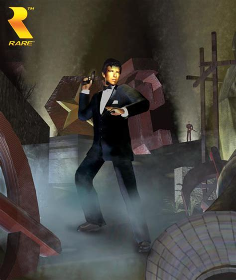GoldenEye 007   Artwork   MundoRare