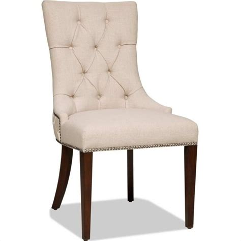 Cherry Dining Chair Furniture Brookhaven Upholstered Dining Chair In Cherry 300 350031