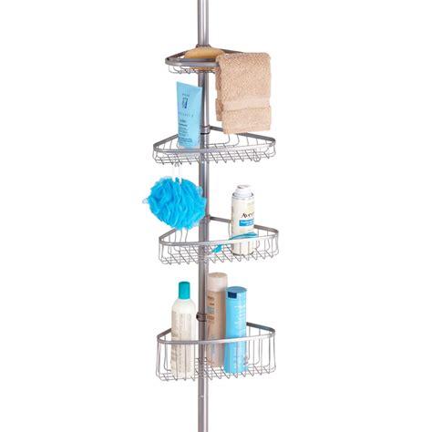 etagere de douche telescopique rangement salle de bain
