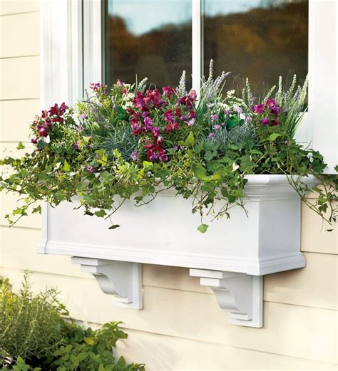 window boxes for plants self watering window boxes plants