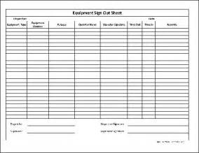 Inventory Sign Out Sheet Template by Best Photos Of Equipment Check Out Form Template Excel