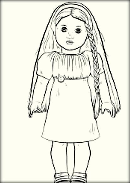American Girl Doll Coloring Pages Color Zini American Doll Coloring Pages To Print Free
