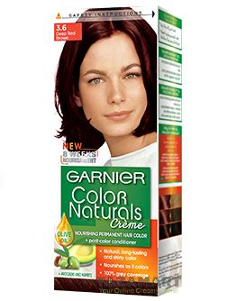 buy garnier color naturals cremé 3.6 deep red brown