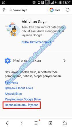 Merek Hp Vivo Y31 cara menghapus salah satu akun gmail di hp android