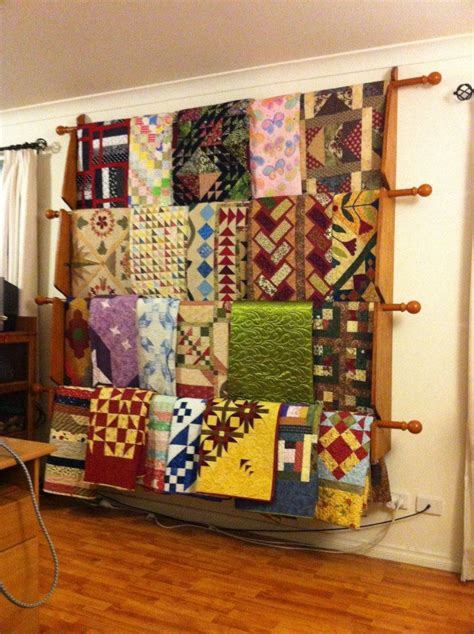 Quilt Rack Display how to make a standing quilt rack woodworking projects