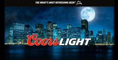 coors light grab rewards coors light rewards those who refresh their night 08 20 2013