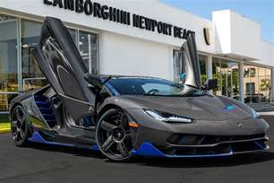 Where Do You Buy Lamborghinis The Lamborghini Centenario Sold In The U S Was