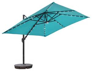10 patio umbrella executive square cantilever umbrella 10 x10 blue