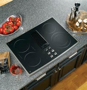 ge profile countertop stove ge profile series 30 quot downdraft electric cooktop