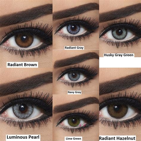 colored contact lenses colored contacts ideas for brown you need to