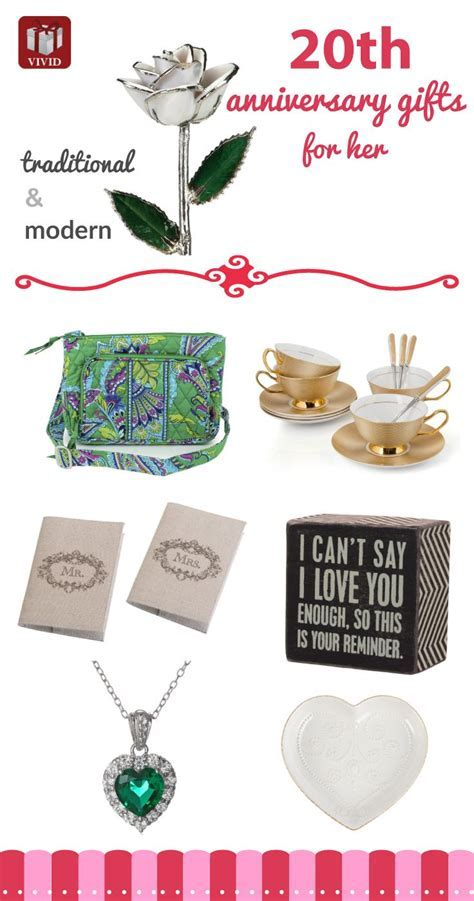25  best ideas about 20th Anniversary Gifts on Pinterest