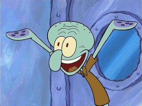 gambar squidward tentacles spongebob lucu keren