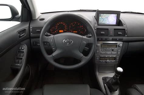 Toyota Avensis 2006 Interior by Toyota Avensis 2003 2004 2005 2006 Autoevolution