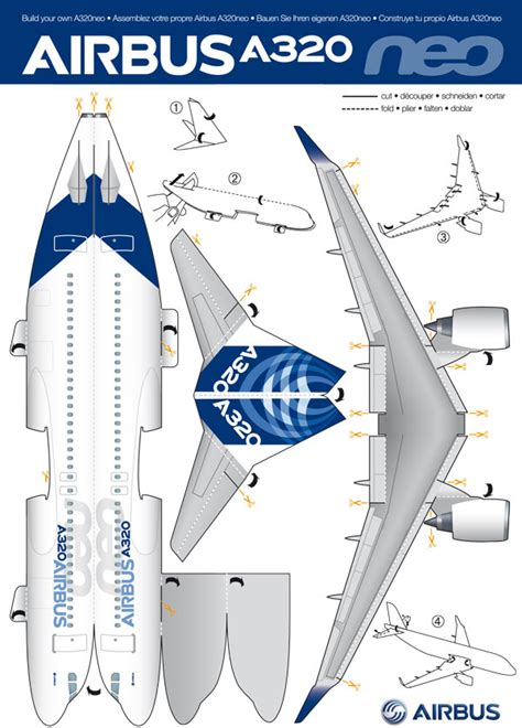 How To Make A Paper C - friday build your own a320neo things with wings