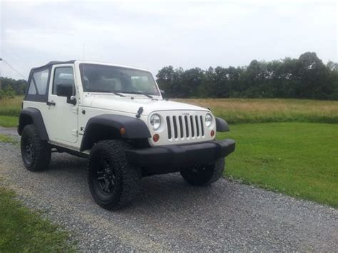 2008 Jeep Wrangler 2 Door Buy Used 2008 Jeep Wrangler X Sport Utility 2 Door 3 8l In