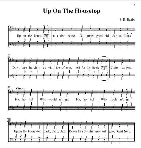 free printable lyrics to up on the housetop best 28 up on the housetop christmas up on the