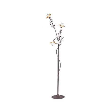 possini design white flower floor l floor l possini design white flower floor l