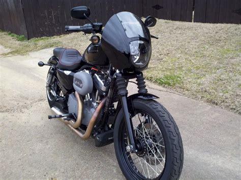 Harley Davidson Quarter Fairing by Detachable Quarter Fairing Kit The Sportster And Buell