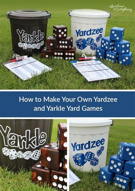 yahtzee yardzee  farkle yarkle