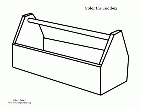 templates box for pages tool box coloring page high quality coloring pages