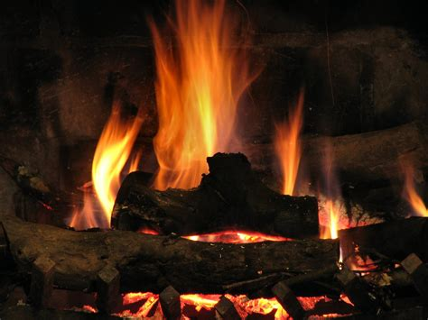 Close Up Fireplace | fireplace free stock photo close up of a fire burning
