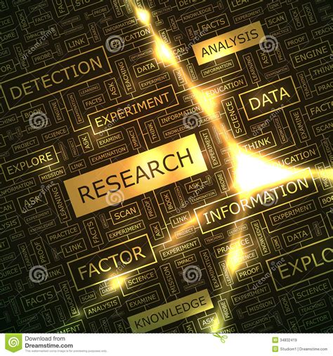 background research research stock vector image of search concept discovery