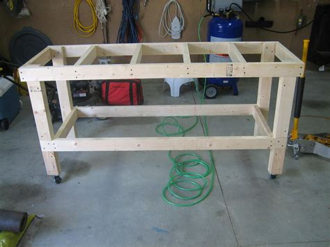 how to build a garage bench how to build a garage workbench