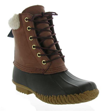womens duck boot hilfiger s russel duck boot rainboots