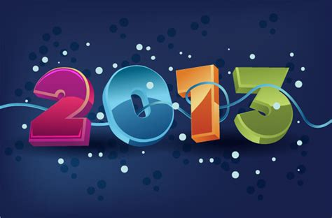 new year 2013 background vector free happy new year 2013 vector illustration gallery