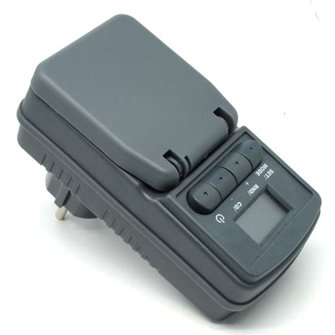 taffware digital timer switch with ip44 waterproof wt001 gray jakartanotebook