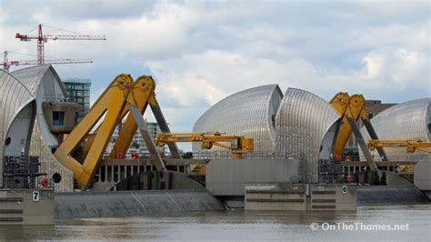 thames defence barrier thames barrier is closed for first time this winter due to