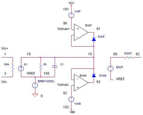 current limiting diode pspice current limiting diode spice model 28 images v limit servo simple transistor and diode