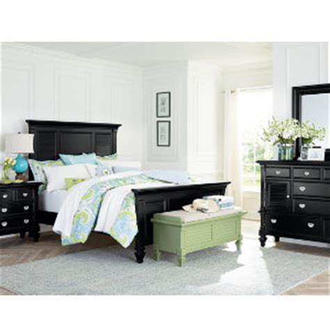 bedroom sets art van summer breeze black collection master bedroom bedrooms