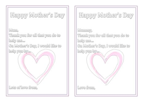 card insert template ks1 s day card inserts by miss n teaching resources tes