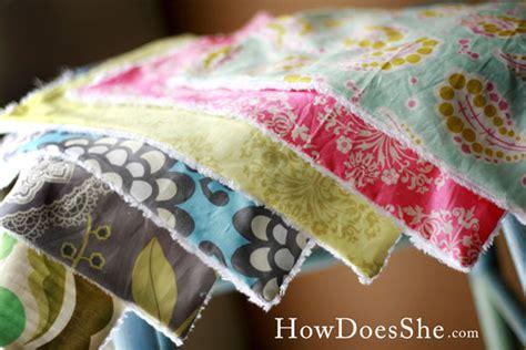 Make Handmade Burp Cloths - gorgeous designer baby burp cloths