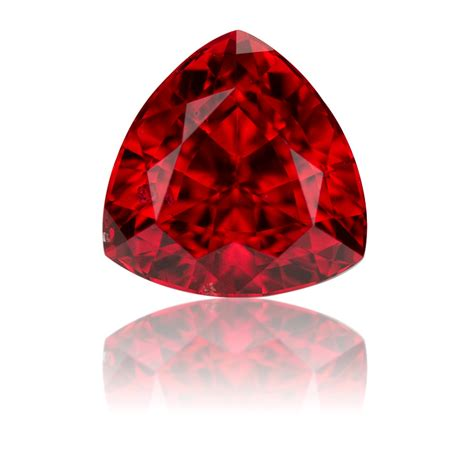 red gem vietnam red spinel trillion 1 5ct king stone gems