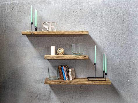 mensole in legno su misura mensole legno massello di recupero made in italy inventoom