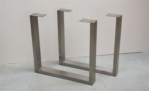 u shaped table legs u shaped stainless steel table legs buy metal u shape