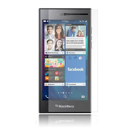 Tempered Glass Blackberry Screen Guard blackberry leap tempered glass screen protector سایمان دیجیتال