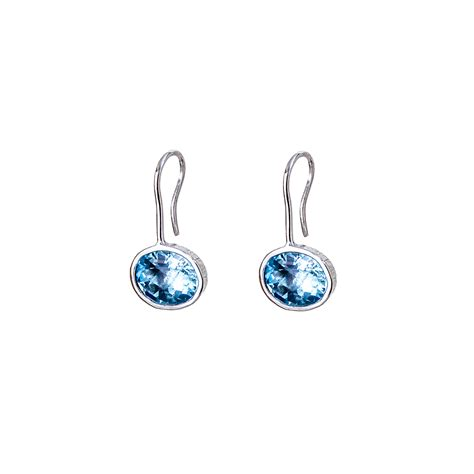 blue topaz iris drop earrings renn 233