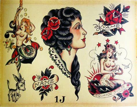 tattoo old school gitana tattoo blog 601 tradicional americano