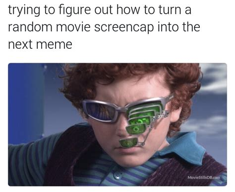 Glasses Meme - how to make the next screencap meme spy kids 2 glasses