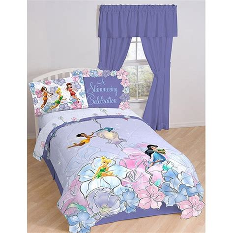 fairy comforter disney fairies tink garden bedding comforter