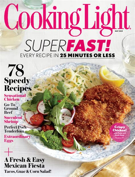 cooking light diet coupon code cooking light magazine subscription 19 99 two years