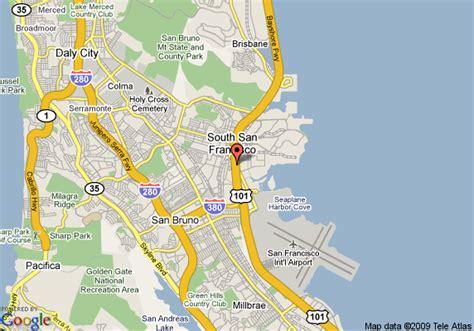 san francisco map with airport maps san francisco airport michigan map