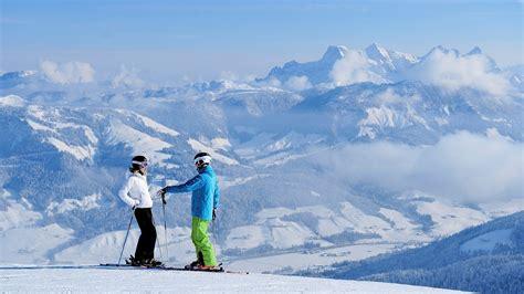 alpen urlaub winter eindr 252 cke vom atemberaubenden winter in den kitzb 252 heler alpen