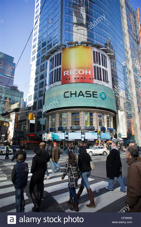 jp bank ny advertising for jpmorgan bank in times square in new