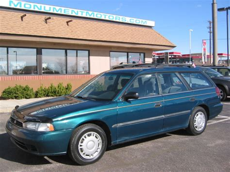 1996 Subaru Legacy L by 1996 Subaru Legacy L Wagon 06 11 11 Walschlager