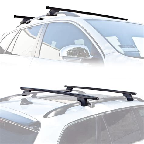 Roof Rack Cross Bar Model Jepit Roof Rail Suzuki Apv 2006 wagon suv universal roof rack cross bar rail pair car luggage rooftop horizontal ebay
