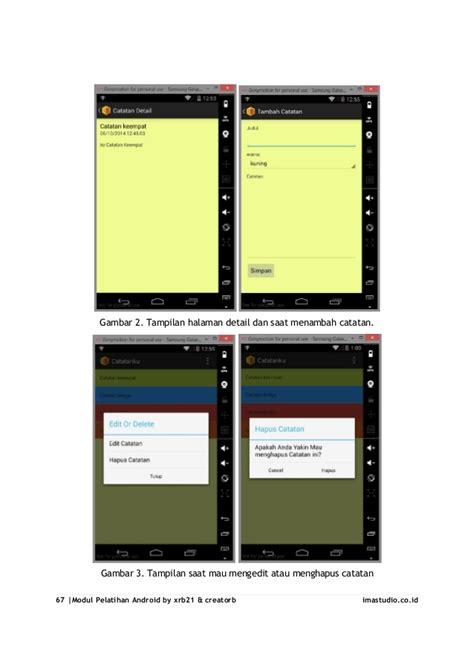 membuat aplikasi android crud tutorial lengkap cara membuat aplikasi android sederhana